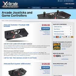 Arcade Joysticks and Game Controllers
