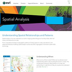 ArcGIS - Spatial Analysis