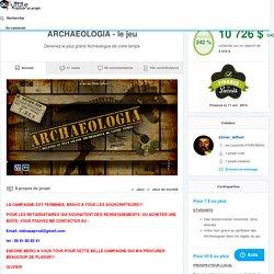 ARCHAEOLOGIA - le jeu