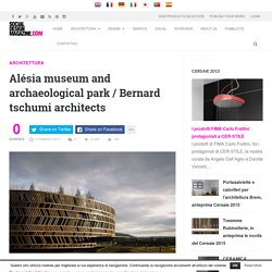 Alésia Musée et parc archéologique/Bernard tschumi architectes-Social Design Magazine