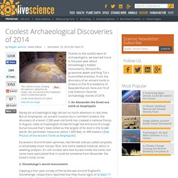Coolest Archaeological Discoveries of 2014