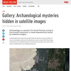 Gallery: Archaeological mysteries hidden in satellite images