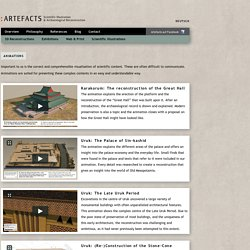 Artefacts - Scientific Illustration & Archaeological Reconstruction
