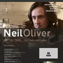 Neil Oliver, archaeologist, historian, author and broadcaster. Represented by Sophie Laurimore at Factual Management.