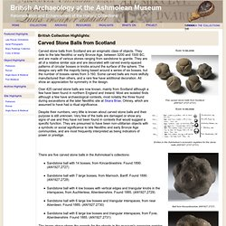 Museum: British Archaeology Collections - Rationalisation and En