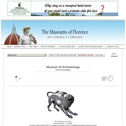 Museum of Archaeology - Egypian Museum - Florence