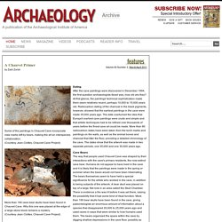 Magazine - A Chauvet Primer - Archaeology Magazine Archive