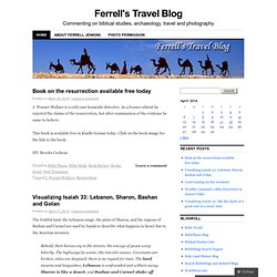 Ferrell's Travel Blog