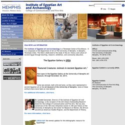 Institute of Eqyptian Art and Archaeology :: Institute of Egypti