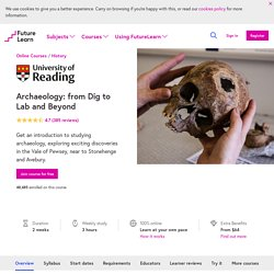 Archaeology - University of Reading