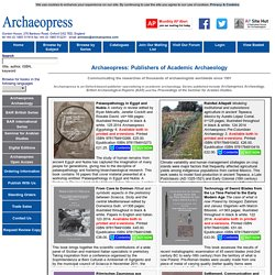 British Archaeological Reports