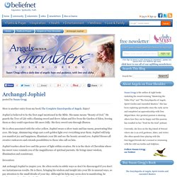 Archangel Jophiel - Angels on Your Shoulder