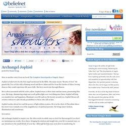 Archangel Jophiel - Angels on Your Shoulder