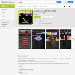 Archanoid DEMOLITION - Android Apps on Google Play