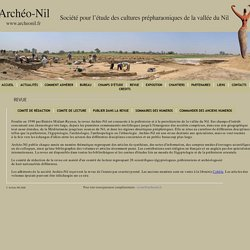 archeo-nil revue