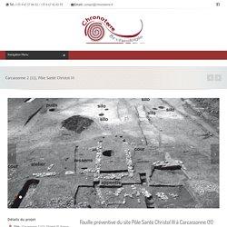 Archéologie préventive Chronoterre archéologie
