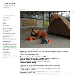 Archéologie de la mémoire sensible - elizabethguyon