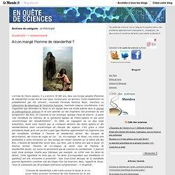 archéologie - En quête de sciences - Blog LeMonde.fr