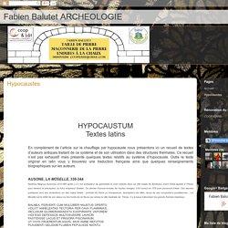 Hypocaustes