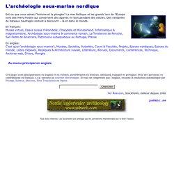 L'archéologie sous-marine nordique