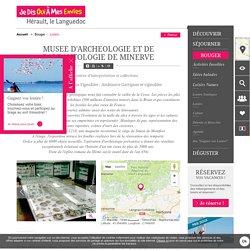 MUSEE D'ARCHEOLOGIE ET DE PALEONTOLOGIE DE MINERVE - MINERVE