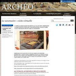 L'archéologie: Le sanctuaire : visite virtuelle