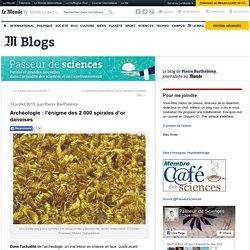 Archéologie : l'énigme des 2000spirales d'or danoises
