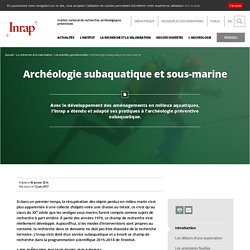 Archéologie subaquatique et sous-marine