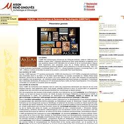 Archéologies et Sciences de l'Antiquité (UMR 7041)