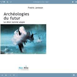 Archéologies du futur - Page 1