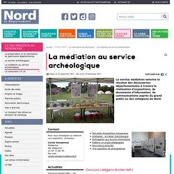 La médiation au service archéologique - Département du Nord