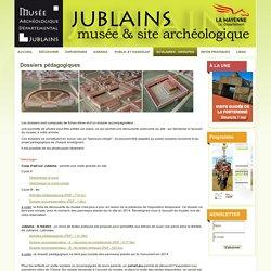 Musée archéologique départemental de Jublains - Dossiers pédagogiques