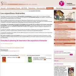 Service Archéologique Départemental des Yvelines - Les expositions itinérantes