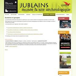Musée archéologique départemental de Jublains - Scolaires - groupes