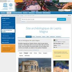 Site archéologique de Leptis Magna