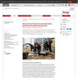 Découverte en France dune nouvelle tombe princière du Ve siècle avant notre ère