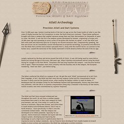 Archeology - Atlatl.com - Learning About Primitive Atlatl and Da