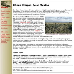 Archeology Research - Chaco Canyon, New Mexico