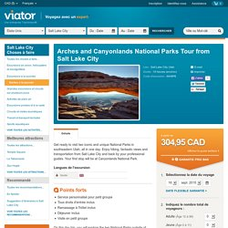 Arches and Canyonlands National Parks Tour