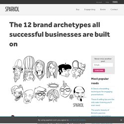 The 12 brand archetypes all successful businesses are built on