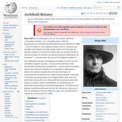 Archibald Belaney