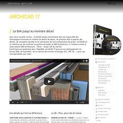 ArchiCAD 18 - Le BIM jusqu'au moindre détail