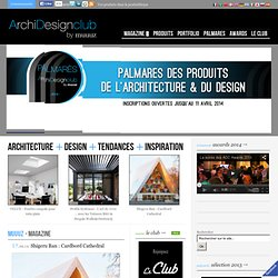 Muuuz – Blog Architecture, Design, Tendances, Inspiration