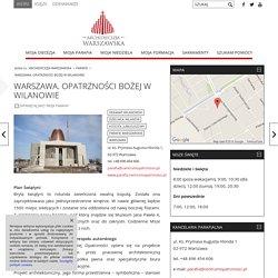Warszawa. Opatrzności Bożej w Wilanowie