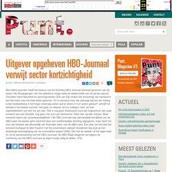 28-6-2004 Uitgever opgeheven HBO-Journaal verwijt sector kortzichtigheid