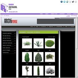 Archiforge - Cutout plants