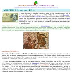 Archimède de Syracuse