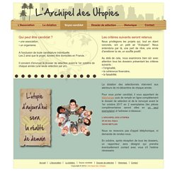 L'Archipel des Utopies - Mécénat d'Association
