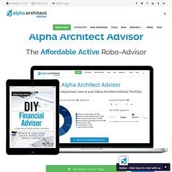 Alpha Architect - Affordable. Active. Alpha