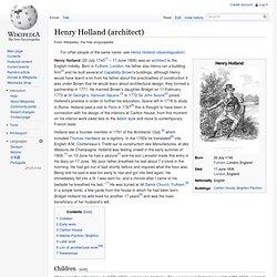 Henry Holland (architect)